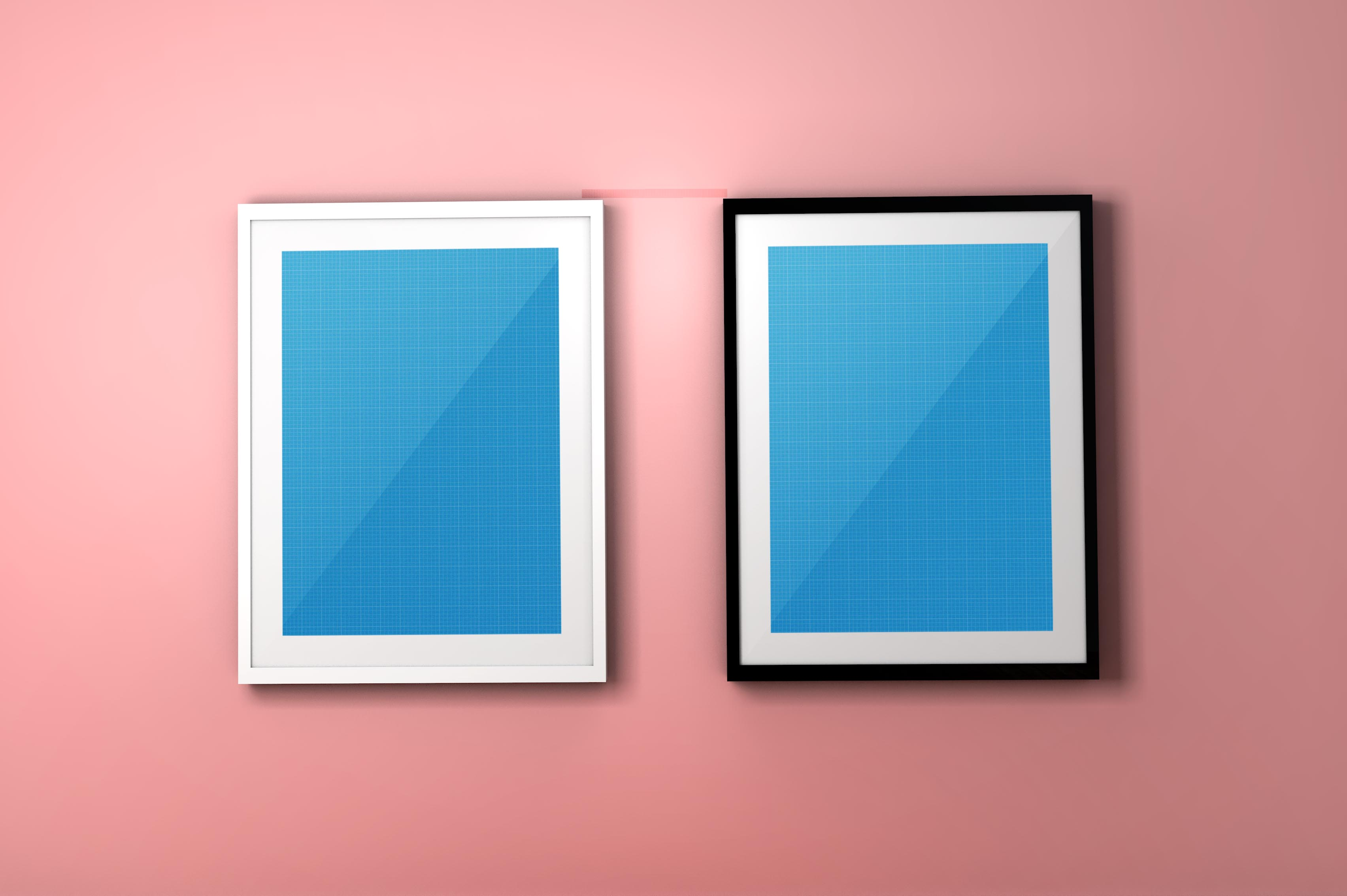 colorful-frame-psd-mockup