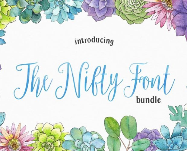 The-Nifty-Font-Bundle